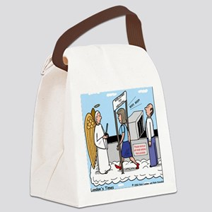 Heavenly Security Canvas Lunch Bag