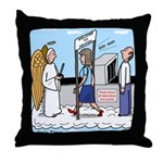 Heavenly Security Throw Pillow