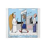Heavenly Security Throw Blanket