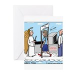 Heavenly Security Greeting Cards (Pk of 10)