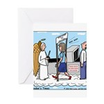 Heavenly Security Greeting Card