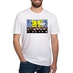 Hair Club Graduation Fitted T-Shirt