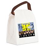 Hair Club Graduation Canvas Lunch Bag