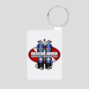 Resuce Diver (Scuba Tanks) Keychains