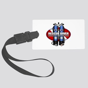Resuce Diver (Scuba Tanks) Luggage Tag