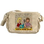 Girls Gone Mild Messenger Bag