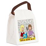 Girls Gone Mild Canvas Lunch Bag