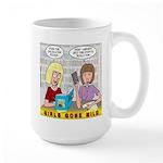 Girls Gone Mild Large Mug
