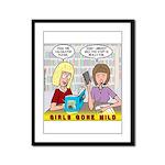 Girls Gone Mild Framed Panel Print