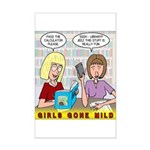 Girls Gone Mild Mini Poster Print