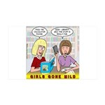 Girls Gone Mild 35x21 Wall Decal