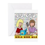Girls Gone Mild Greeting Cards (Pk of 10)