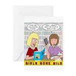 Girls Gone Mild Greeting Card