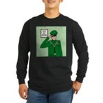 General Medicine Long Sleeve Dark T-Shirt