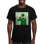 General Medicine Men's Fitted T-Shirt (dark)