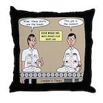 Geek Wear Throw Pillow