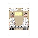 Geek Wear Mini Poster Print