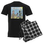 Gas Mask Men's Dark Pajamas