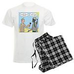 Gas Mask Men's Light Pajamas