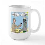 Gas Mask Large Mug