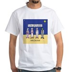 Wise Men and Frankenstein White T-Shirt