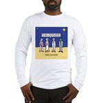 Wise Men and Frankenstein Long Sleeve T-Shirt