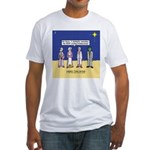 Wise Men and Frankenstein Fitted T-Shirt