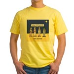 Wise Men and Frankenstein Yellow T-Shirt