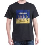 Wise Men and Frankenstein Dark T-Shirt