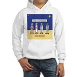 Wise Men and Frankenstein Hooded Sweatshirt