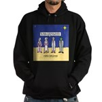 Wise Men and Frankenstein Hoodie (dark)