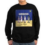 Wise Men and Frankenstein Sweatshirt (dark)