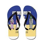 Wise Men and Frankenstein Flip Flops