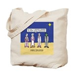 Wise Men and Frankenstein Tote Bag