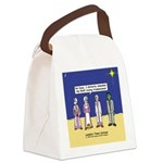 Wise Men and Frankenstein Canvas Lunch Bag
