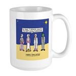 Wise Men and Frankenstein Large Mug