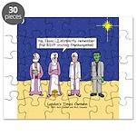 Wise Men and Frankenstein Puzzle