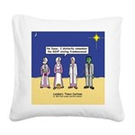 Wise Men and Frankenstein Square Canvas Pillow