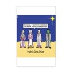 Wise Men and Frankenstein Mini Poster Print