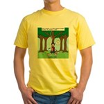 Isaac Newtons Brother Fig Yellow T-Shirt