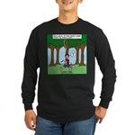 Isaac Newtons Brother Fig Long Sleeve Dark T-Shirt