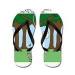 Isaac Newtons Brother Fig Flip Flops