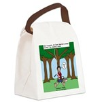 Isaac Newtons Brother Fig Canvas Lunch Bag