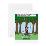 Isaac Newtons Brother Fig Greeting Card
