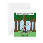 Isaac Newtons Brother Fig Greeting Cards (Pk of 20