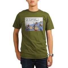 Snail Orders Escargot Organic Men's T-Shirt (dark)