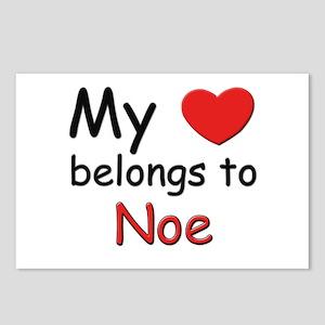 My heart belongs to noe Postcards (Package of 8)