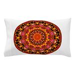 Glittering Gold Mandala Pillow Case
