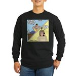 Customer No Service Long Sleeve Dark T-Shirt