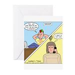 Customer No Service Greeting Cards (Pk of 10)